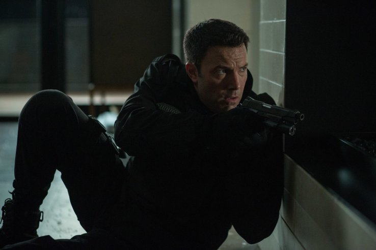 The action scenes are precise and brutal, which matches Affleck's character well.