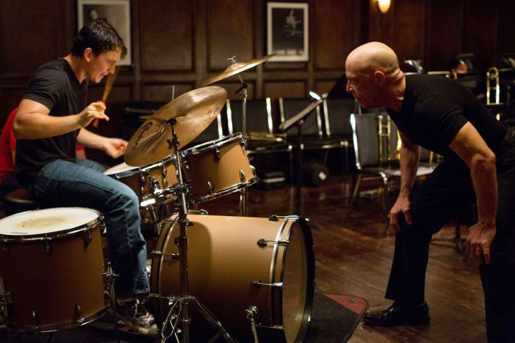 J.K Simmons is a marvel in Whiplash, a true drill sergeant of a musician